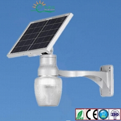6W-12W Solar LED Garden light with Apple lampshade