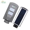 20W40W 60W Cheap ABS solar motion Sensor all in one led solar street light   2