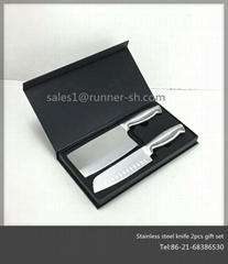 Premium Stainless Steel Kitchen Knife 2pcs Set