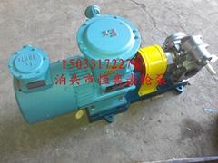kcb300变频防爆齿轮油泵输送易燃易爆类介质