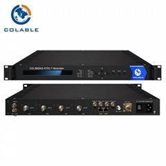 1 RF 输入采用数字预失真到ATSC-T RF输出音视频调制器
