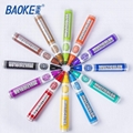 12 Multicolors Custom Whiteboard Marker