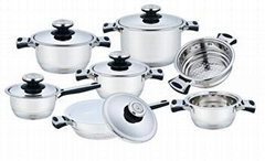 Hot sell induction bottom non-stick stainless steel frypan supplier