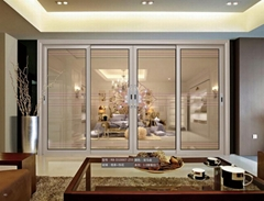 瑞寶門窗室內鋁合金陽台推拉門RB-D10007Z55