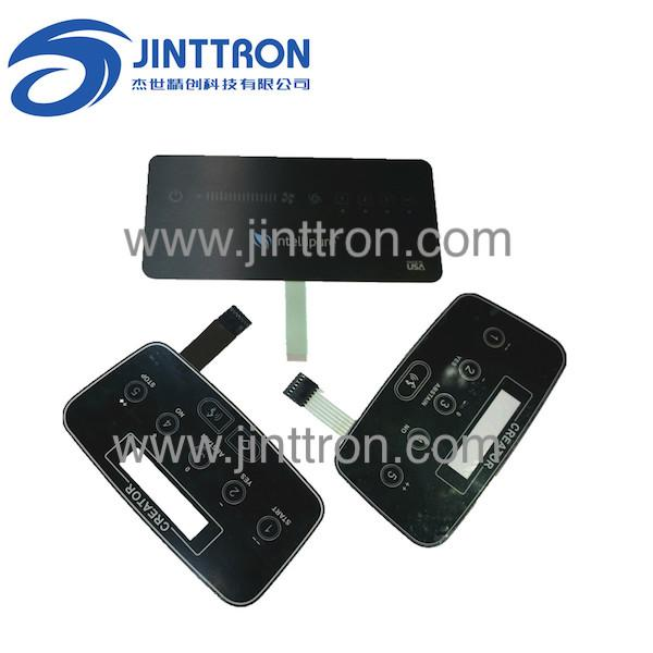 Air fresh filter controller panel used capacitive membrane touch switch  1