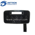 Air fresh filter controller panel used capacitive membrane touch switch  2