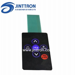 Car used membrane switch with LGF function and use in dark enviroment
