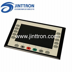 membrane switch PCB assembly with plastic shell, enclosure