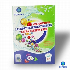New Product Washing Powder Sheets For Apparel