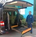 DN-880 面包车商务车用电动轮椅升降机 2