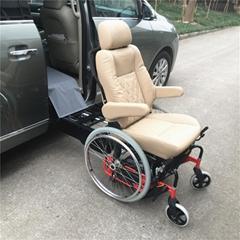 S-LIFT-W 可行走式轮椅升降旋转汽车座椅