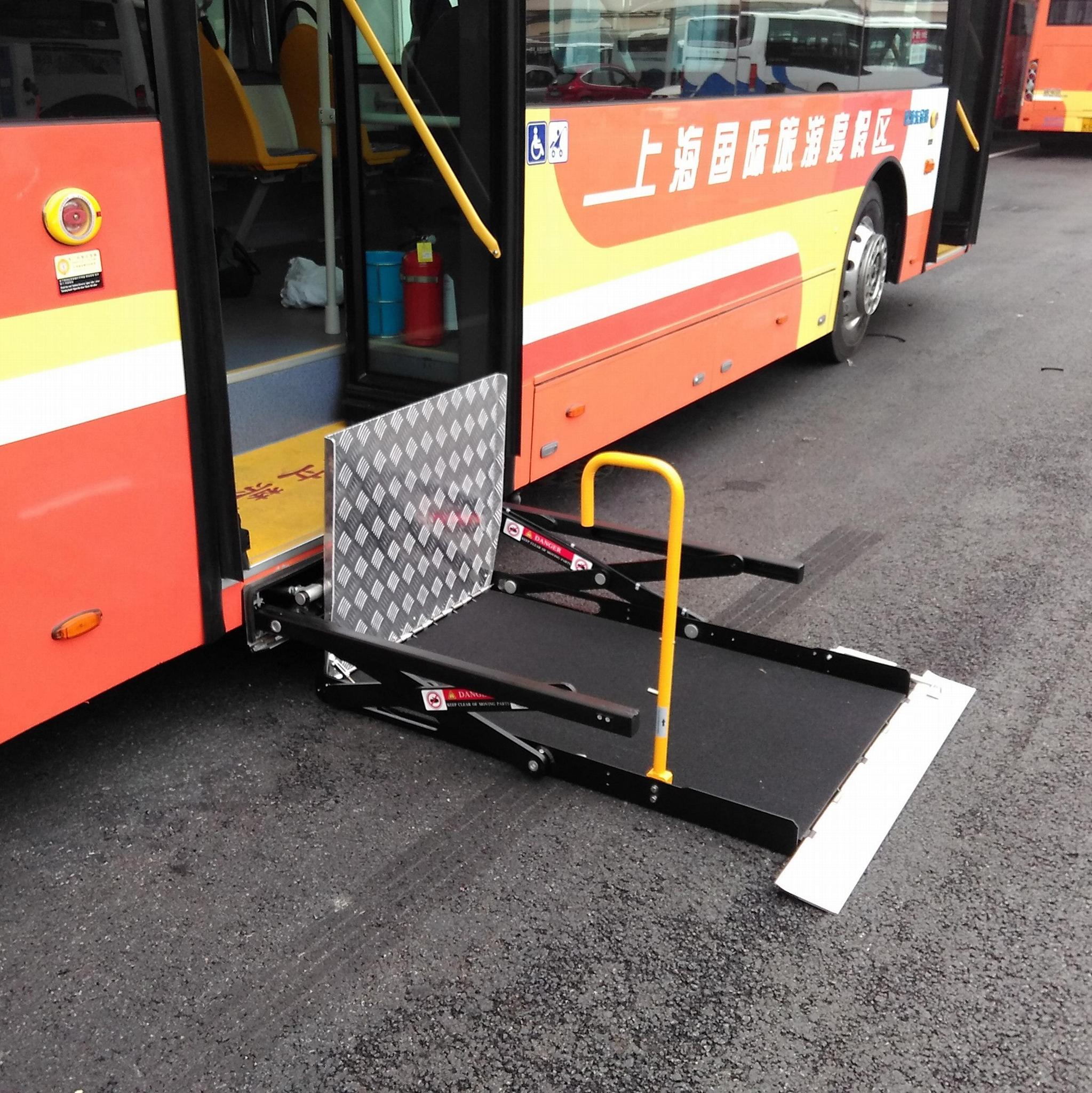WL-UVL公交车轮椅升降机升降平台 2