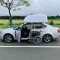 WCT车顶轮椅收存装置
