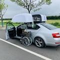 WCT车顶轮椅收存装置 2