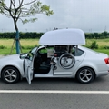 WCT车顶轮椅收存装置 5