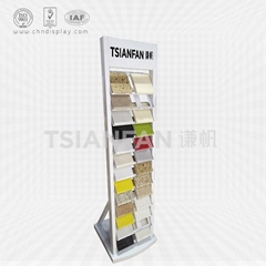 Quartz stone floor display stand-SRL2022