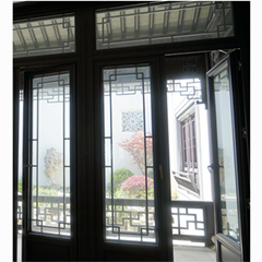 China style outward opening Aluminum alloy casement door