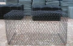 Top grade hexagonal Gabion Mesh with steel wire type rockfall netting supplier