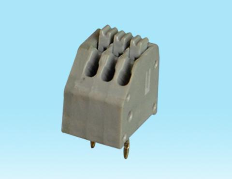DG250-3.5-06P彈簧式PCB接線端子鎮流器3.5mm免螺絲式 彩色 2