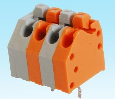DG250-3.5-06P彈簧式PCB接線端子鎮流器3.5mm免螺絲式 彩色 3