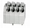 DG250-3.5-06P彈簧式PCB接線端子鎮流器3.5mm免螺絲式 彩色 1
