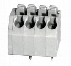 DG250-3.5-06P彈簧式PCB接線端子鎮流器3.5mm免螺絲式 彩色