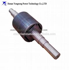 Permanent magnet motor rotor core