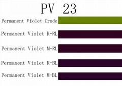Organic Pigment Violet 23 PE PP PVC PS PMMA PC Pet POM Rubber