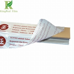 0.05-0.2mm Milky White Printed Protective Film for Aluminum Profile Surface