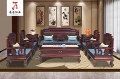 东阳红木家具厂明韵沙发
