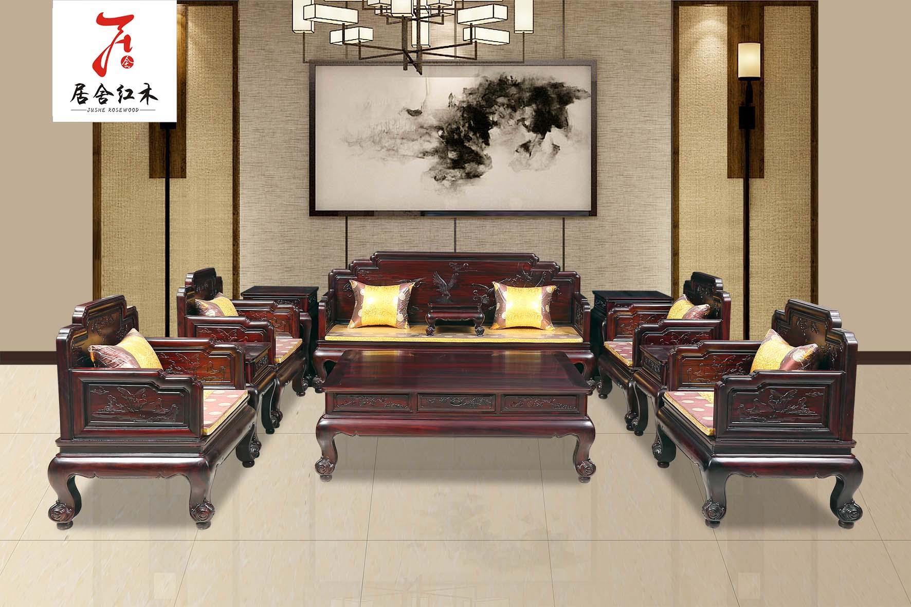 东阳红木家具厂明韵沙发 3