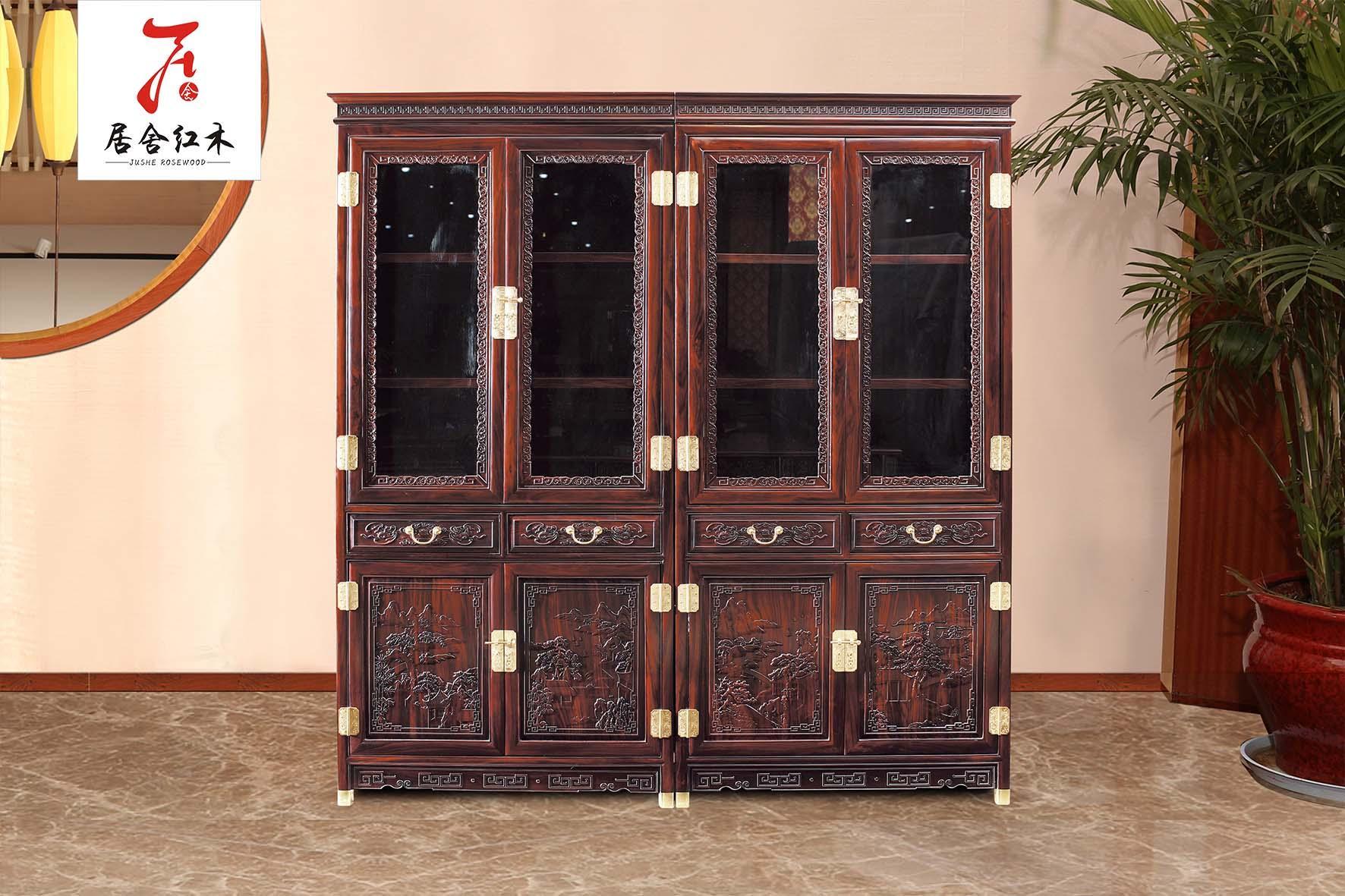 黑酸枝家具红木电视柜 1