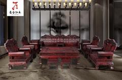 红木罗汉床国标红木家具