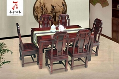 红木书房印尼黑酸枝家具