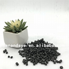 Carburant/graphite carbon additive for steel