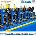 SUS304 Food Grade Sanitary Tube Making Equipment Industrial Machinery Tube Mill