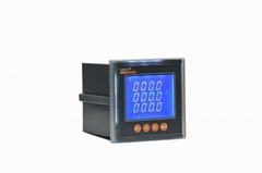PZ80L-AI single phase digital display panel mounted LED ac ammeter