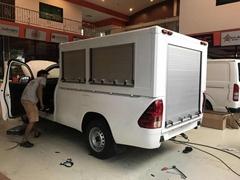 Aluminium Security Door Roller Shutter for Special Vehicles
