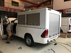 Aluminium Security Silver Roller Shutter for Special Vehicles