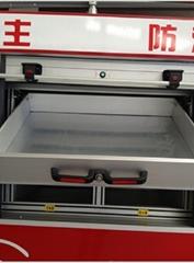 Fire Fighting Truck Drawer Aluminum Drawer