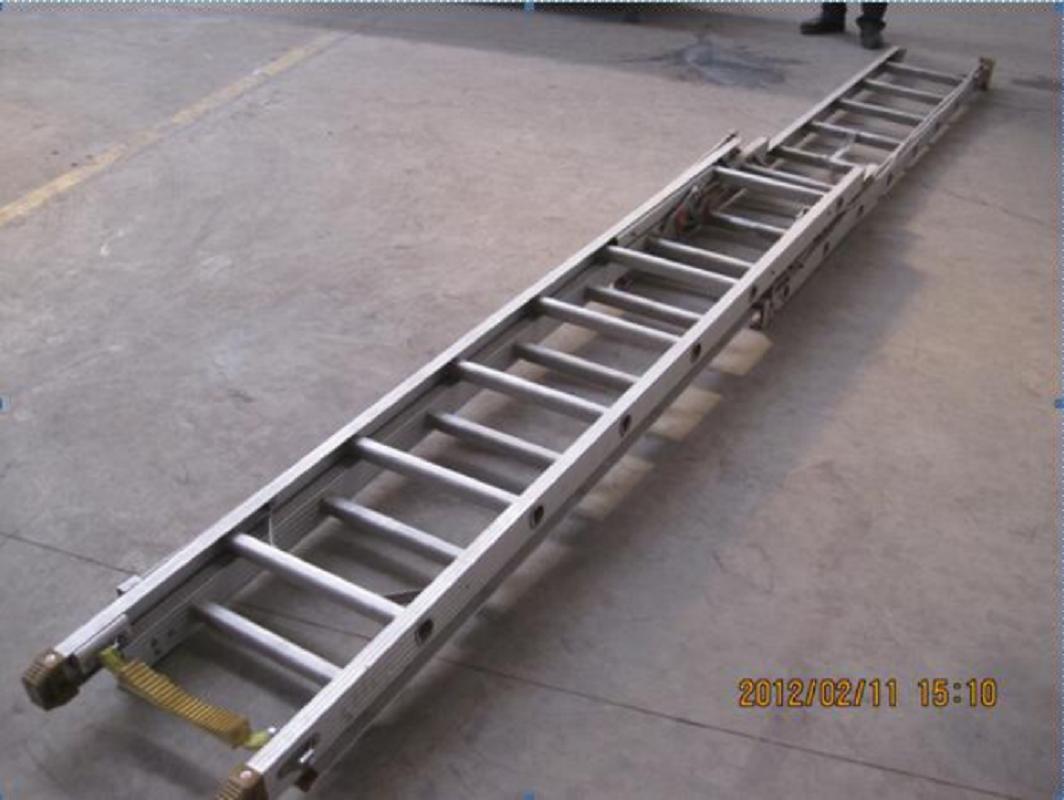 Truck Accessories Aluminum Back Ladder for Fire Trucks 2