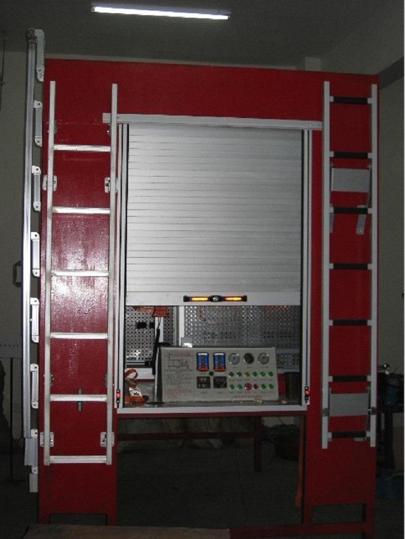 Roll up Door Firefighting Emergency Truck Special Vehicles Roller Shutter 4