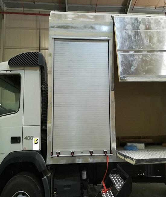 Selling Aluminum Rolling Shutter Door for Fire Trucks Special Vehicles 1
