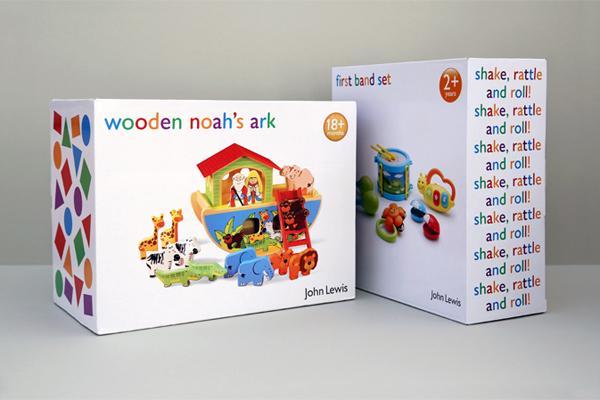 玩具包裝彩盒印刷 1