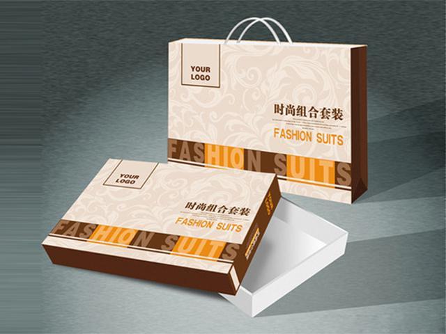 服裝包裝彩盒 1