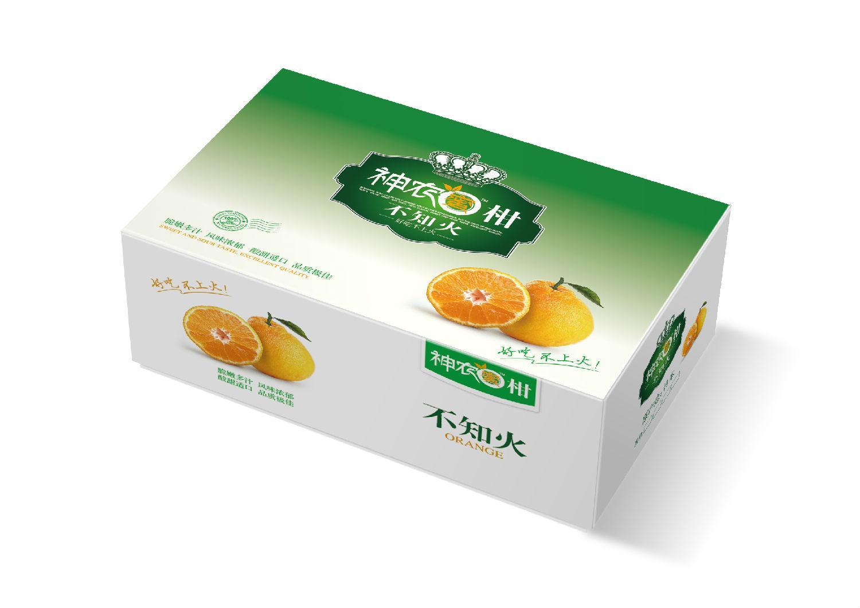 土特產彩盒包裝 2