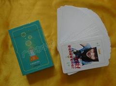 广州广告扑克印刷定制