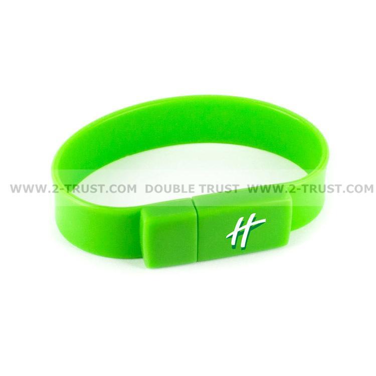 Newest Silicone Bracelet U Disk USB Flash Drive 2
