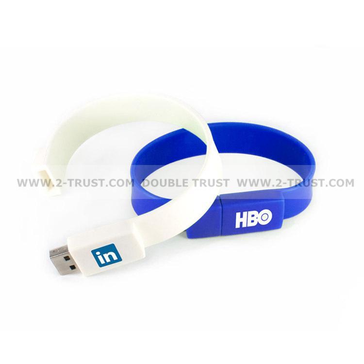 Newest Silicone Bracelet U Disk USB Flash Drive 3