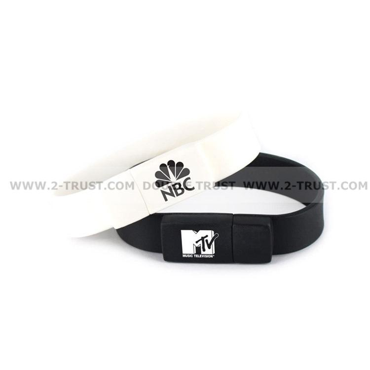 Newest Silicone Bracelet U Disk USB Flash Drive 4